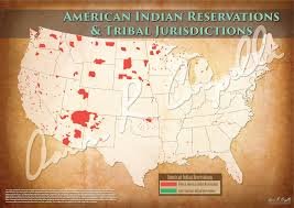 Indian Tribes North America Map by United States American Indian Reservations Map U2013 North American