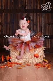 Girls Size 5 Halloween Costumes Tiny Turkey Tutu Dress Infant Baby Photo Prop