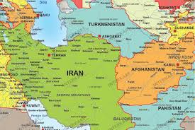 Bahrain Map Middle East by Refugee Map Europe Middles East North Africa Political