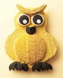 owl cake owl cake how to martha stewart