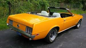 orange mustang convertible 1970 ford mustang convertible for sale