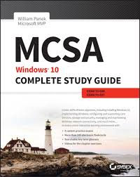 mcsa windows 10 complete study guide ebook by william panek
