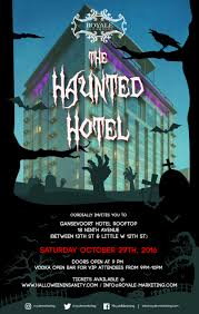 halloween at the haunted hotel tickets gansevoort hotel new