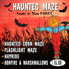 haunted corn maze georgia copper creek farm