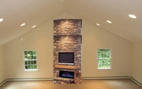 Fireplace Mantels For Tv by Mouting Tv Low On Fireplace Scale With Cathedral Ceiling