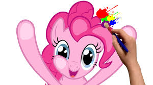 my little pony pinkie pie mlp coloring book cartoon movie