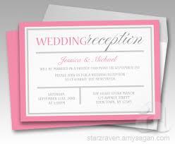 wedding reception invitations invite advice weddingbee