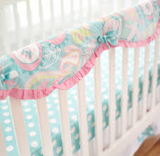 teal crib bedding set paisley baby bedding paisley crib bedding aqua baby bedding