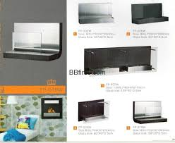 stock wall mounted bio ethanol fireplace w series bb hong