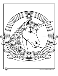 unicorn mandala coloring woo jr kids activities