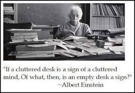 Cluttered Desk Albert Einstein What Do Einstein Keira Knightley And University Of Oxford
