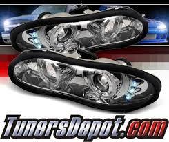 02 camaro headlights sonar halo projector headlights 98 02 chevy camaro pro yd