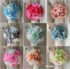 bouquets for wedding buy artificial craft hydrangea flowers background gauze curtain