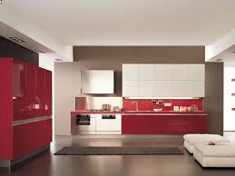 black and red kitchen design black and red kitchen home style design with shiny l shape base
