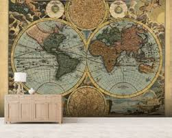 ancient world map wallpaper wallsauce usa