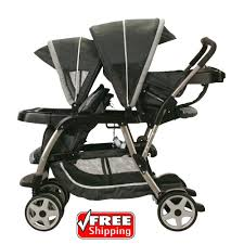aprica baby strollers for two double seat twins girls boys newborn