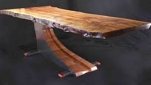 dining table base wood cantilevered dining table youtube
