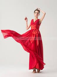 empire linie herzausschnitt bodenlang chiffon brautjungfernkleid mit scharpe band p526 kleider für hochzeitsgäste kleider hochzeitsgäste topwedding