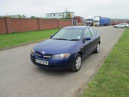 nissan almera used car used nissan almera se blue cars for sale motors co uk
