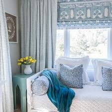 french blue moroccan table transitional bedroom color add
