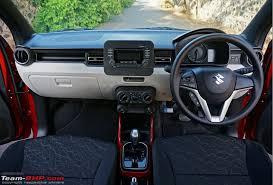 Suzuki Ignis Interior Maruti Ignis Official Review Team Bhp