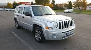 2008 jeep patriot sport 4x4 2008 jeep patriot 2 4 limited station wagon 4x4 5dr in wembley