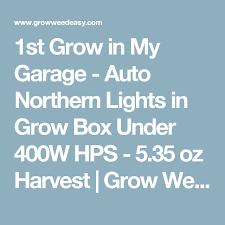 northern lights grow box 1st grow in my garage auto northern lights in grow box under 400w