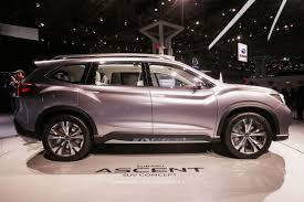 subaru ute 2019 subaru ascent three row suv headed for la auto show roadshow