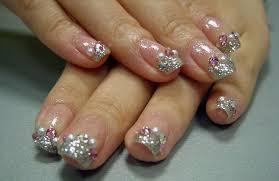 20 startling nail designs with diamonds u2013 naildesigncode