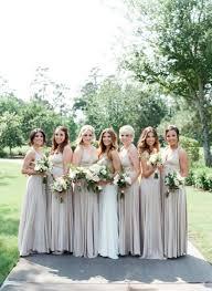 gorgeous houston wedding in style me pretty oyster ballgowns