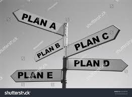 plan b plan a plan b plan c stock photo 536728078 shutterstock
