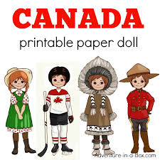 printable paper dolls canadian dress up paper doll printable template with colouring