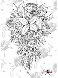 wedding flowers drawing st wedding bouquet