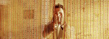 70s Beaded Door Curtains How I Feel Walking Through A Beaded Curtain Gifs