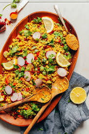 quinoa cuisine curried quinoa salad minimalist baker recipes