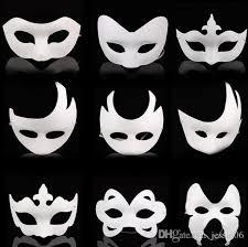 cheap masquerade masks blank white masquerade mask kids adults mardi gras christmas