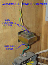wiring doorbell transformers doorbells electrical repair topics