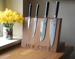 Magnet For Kitchen Knives Personalised Wooden Gifts Make Me Something Special