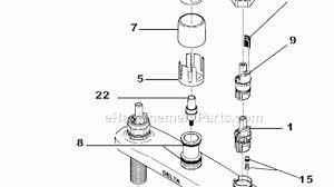 delta kitchen faucet parts diagram amazing delta kitchen faucet parts for model 418 at diagram