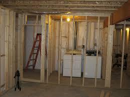 popular unfinished basement laundry room ideas