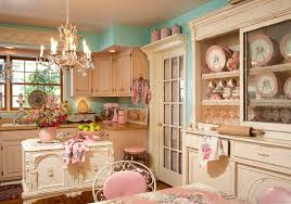 Vintage Chic Home Decor Shabby Chic Kitchen With Different Touch The New Way Home Decor