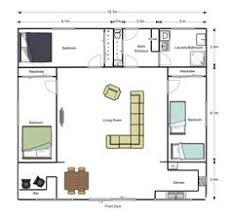 Shipping Container Home Floor Plan Sq Ft Two 40 U0027 Shipping Container House Floor Plan Concept 3d Top