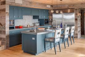 rustic blue gray kitchen cabinets beautiful blue kitchen design ideas
