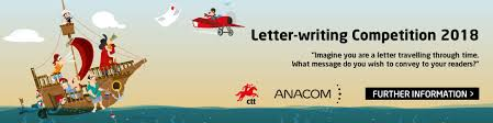 Apply Universal Postal Union International Letter Writing Anacom Letter Writing Competition 2018