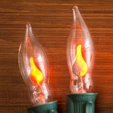 flicker flame string lights christmas lights replacement bulbs c7 flicker flame 1w 120v 2 pack