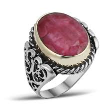 mens rings ruby images Root ruby silver men ring boutique ottoman jewelry store jpg