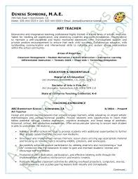 Teacher Skills Resume Examples 45 Best Teacher Resumes Images On Pinterest Teacher Resumes