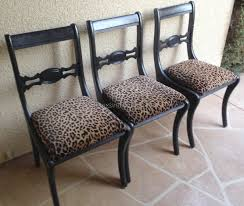 Zebra Bedroom Furniture by Beautiful Zebra Dining Room Chairs Pictures House Design