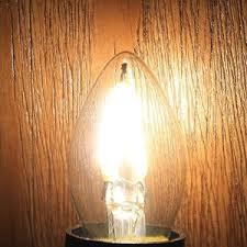 Filament Bulb Desk Lamp Crlight 1w Led Filament C7 Night Light Bulb 2700k Warm White