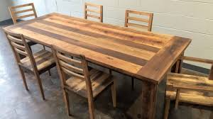 Dining Room Table Reclaimed Wood Dining Table Reclaimed Wood Burnside Douglas Fir Stumptown 6 Ege
